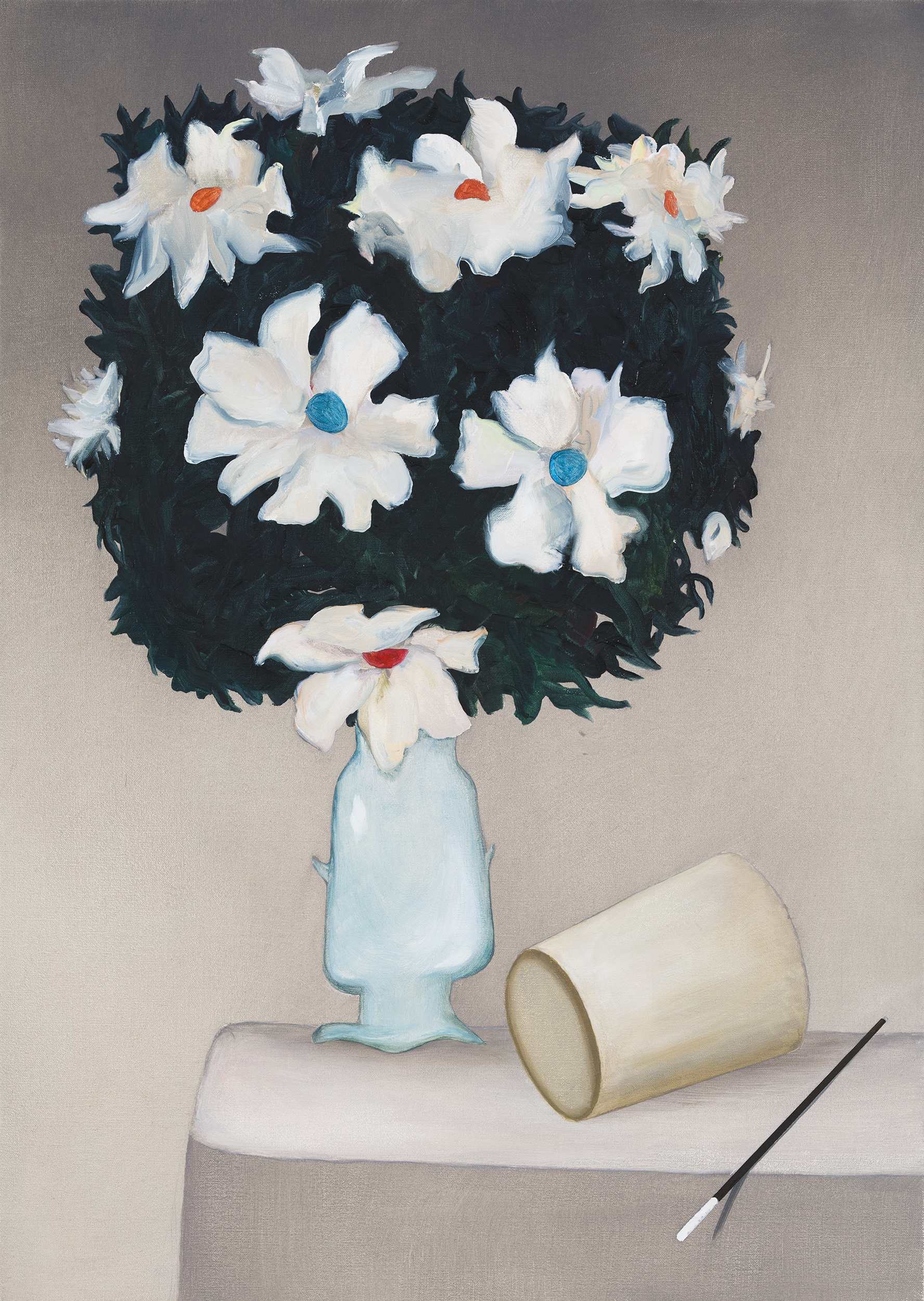 Magic Still Life II, painting by Wouter van Riessen