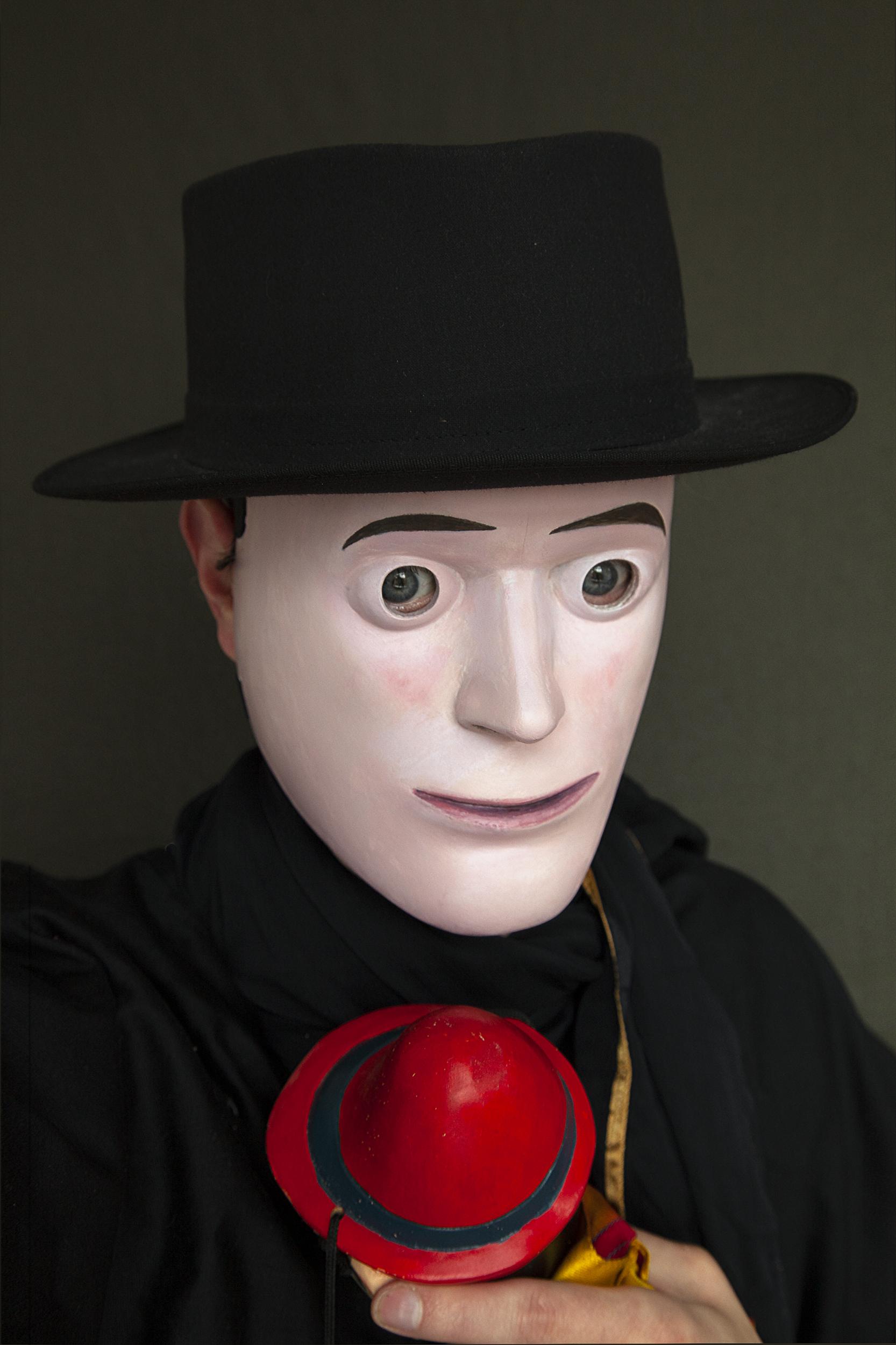 Pinocchio Self-portrait, photograph by Wouter van Riessen