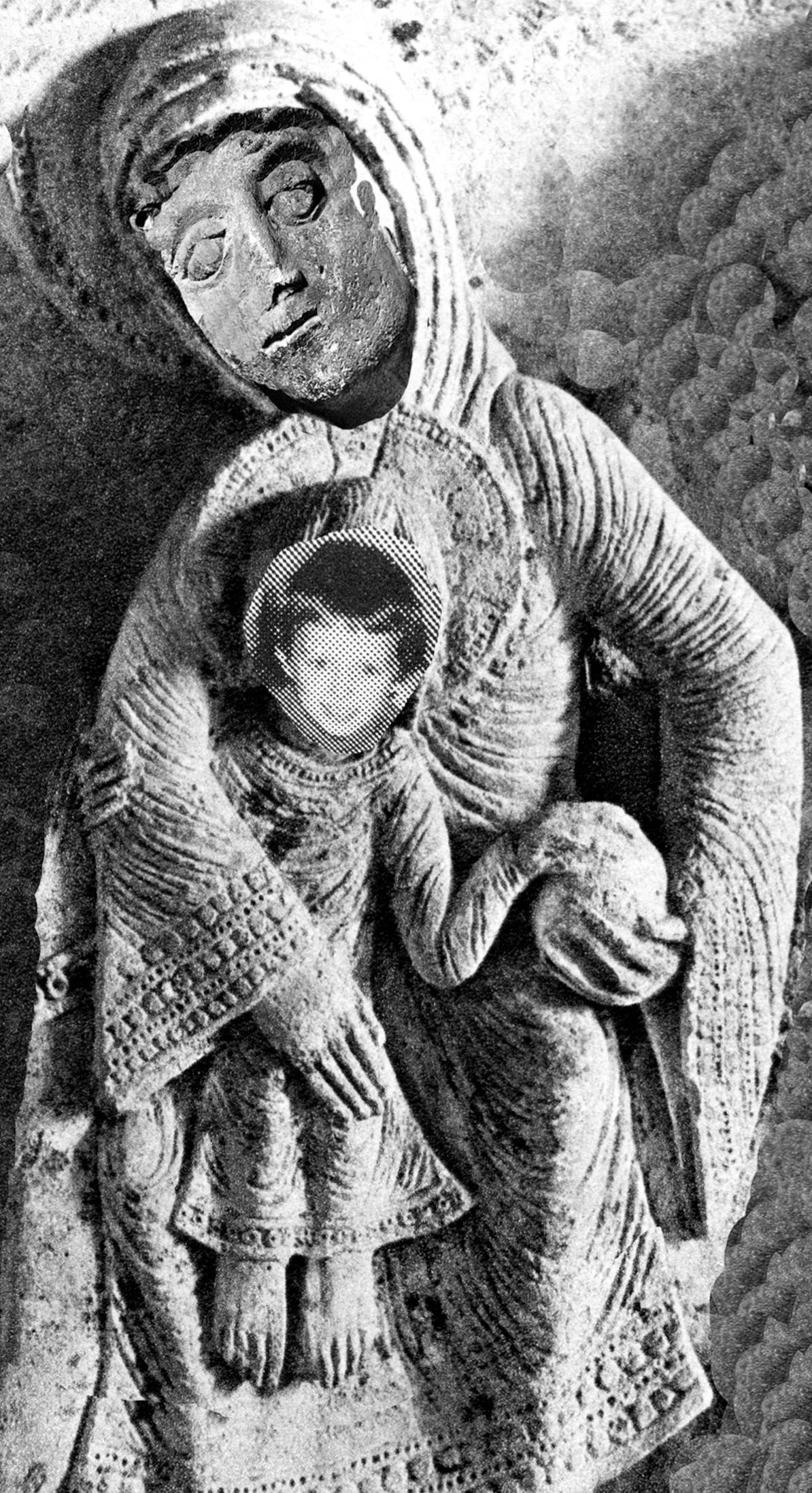 Son of Gislebertus, collage by Wouter van Riessen